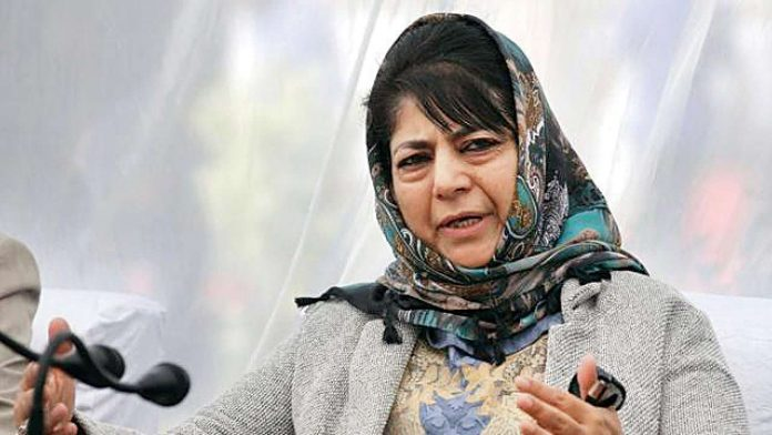 Shopkeepers threatened with FIRs for keeping shops closed on Aug 5: Mehbooba