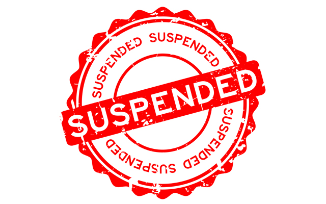 4 suspended for unauthorised absence