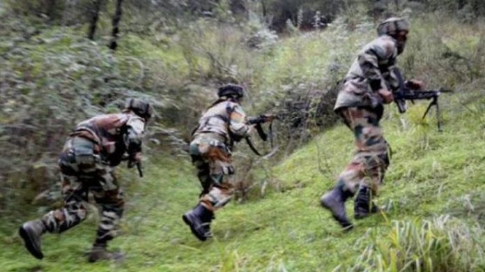 Security forces conduct massive searches along IB in Samba