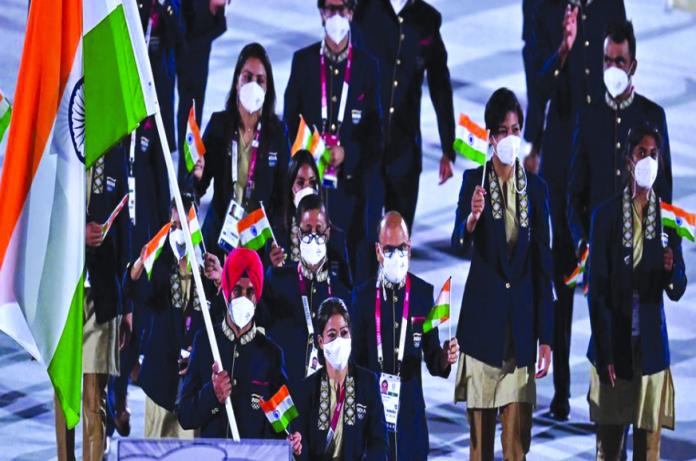 India at the Olympics over the decades