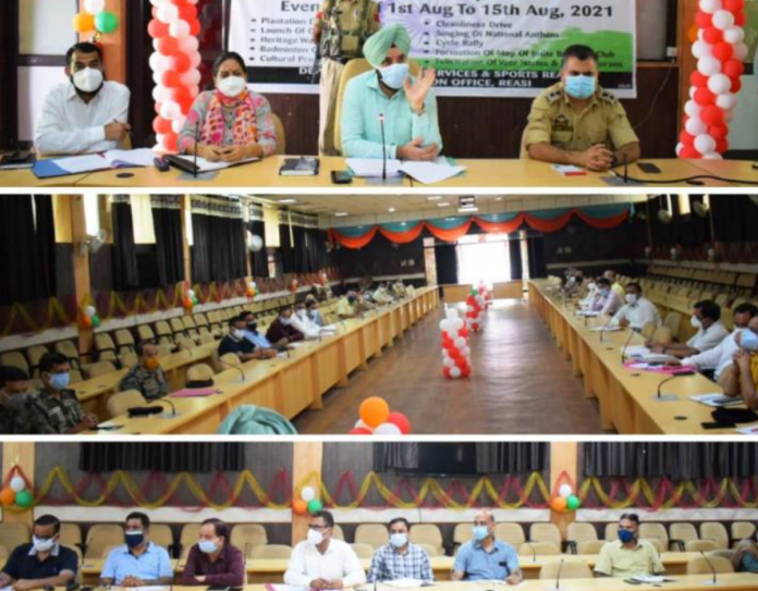I-Day arrangements finalized in Reasi